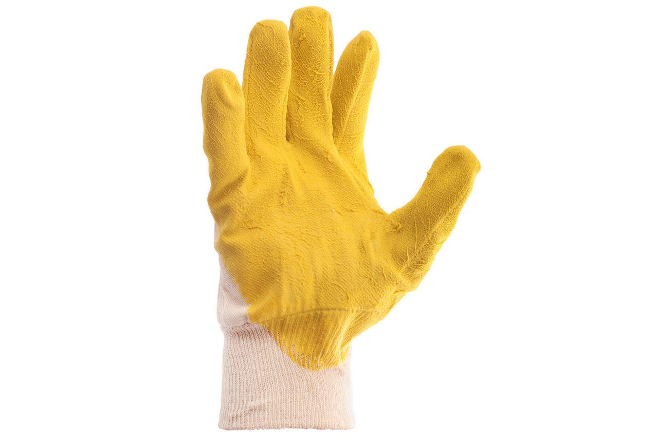 Перчатки Intertool - стекольщика (желтая) 10,5
