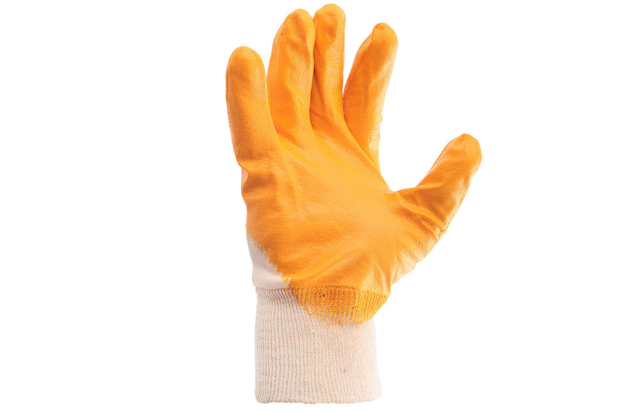 Перчатки Intertool - нитрил 10