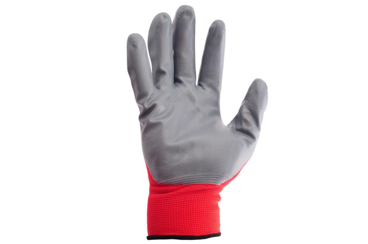 Перчатки Intertool - с нитриловым покрытием 10