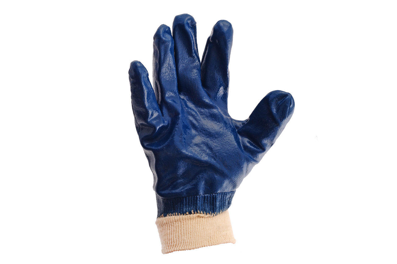 """Перчатки Mastertool - масло-бензостойкие с мягким манжетом 10,5"""" 6 шт."""