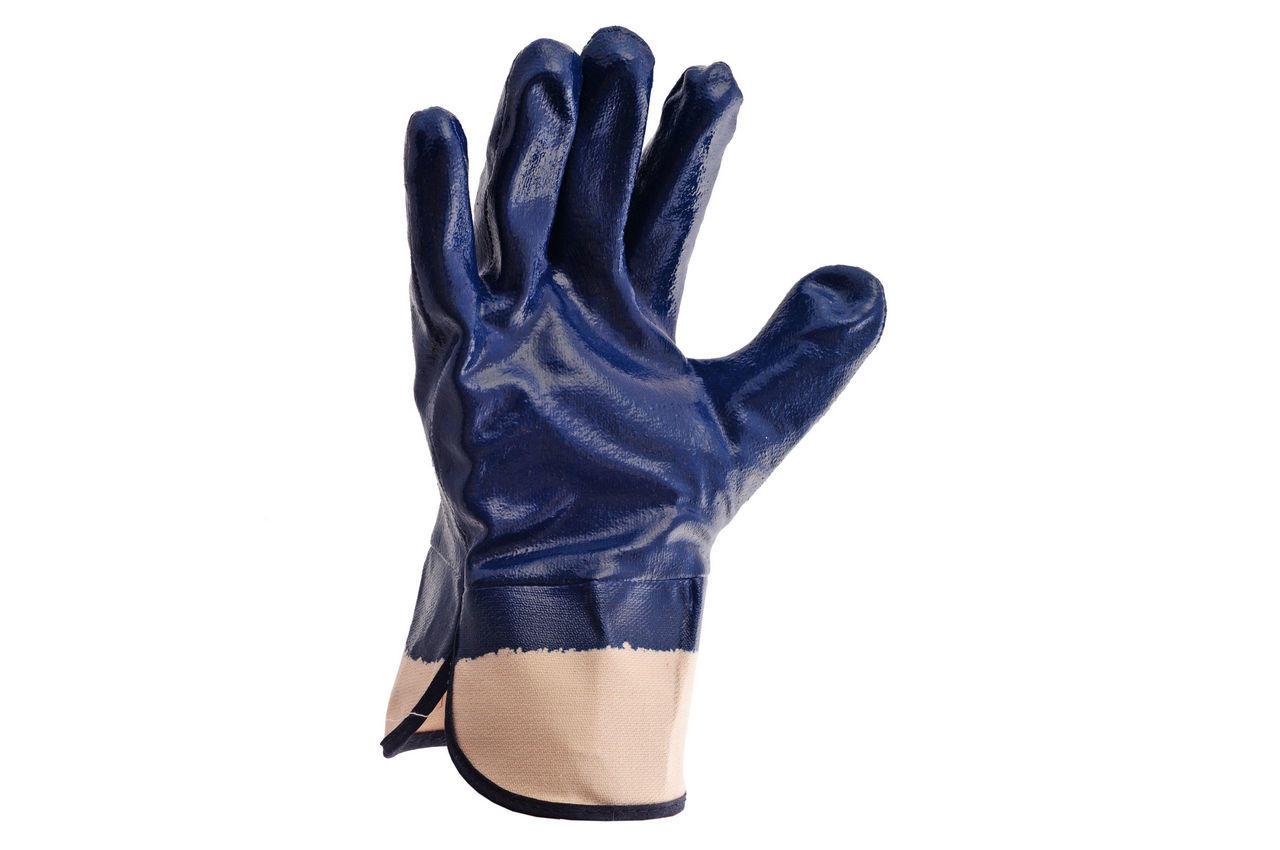 """Перчатки Mastertool - масло-бензостойкие с твердым манжетом 10,5"""" 6 шт."""