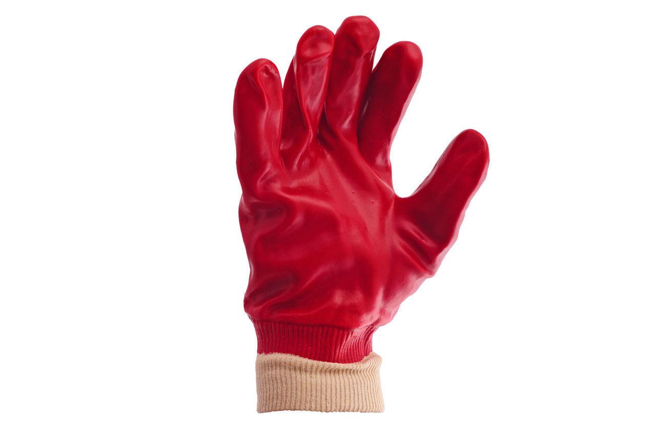 """Перчатки Mastertool - масло-бензостойкая 26 см х 10,5"""" (красная) 6 шт."""