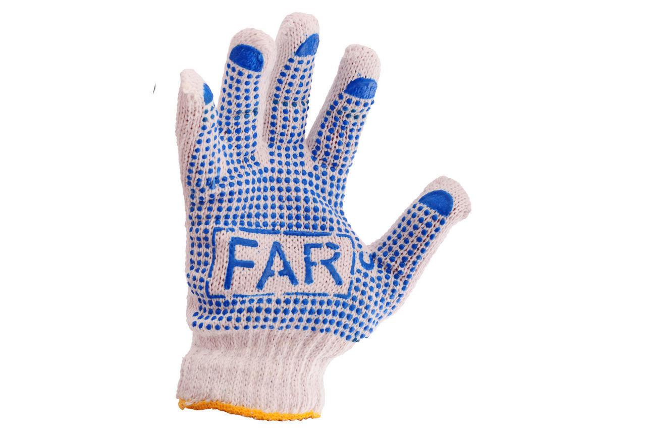 Перчатки PRC FAR - простые плотные 12 шт.