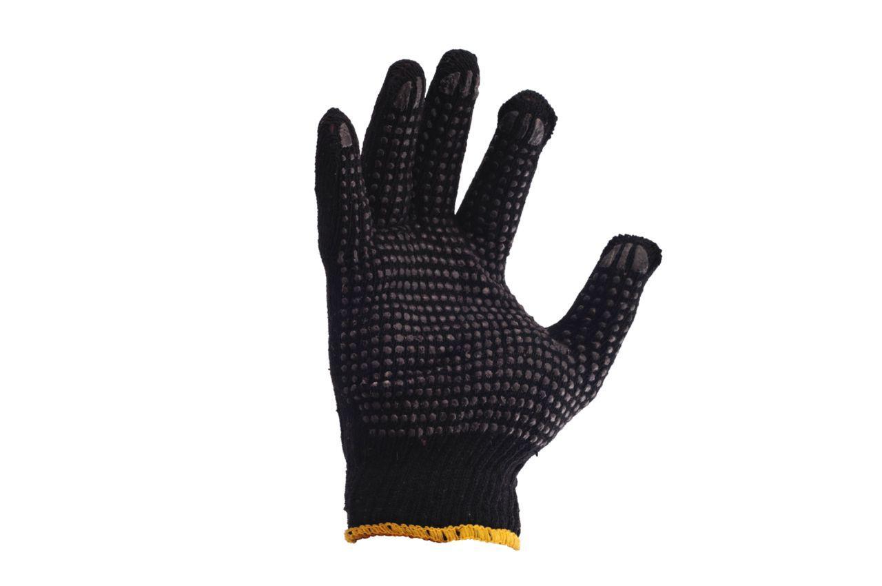 """Перчатки PRC - черная с точкой 10"""", mirza-003"""