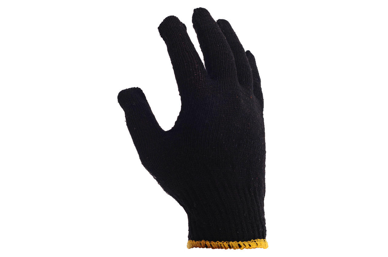 """Перчатки PRC - черная с точкой 10"""" 12 шт."""