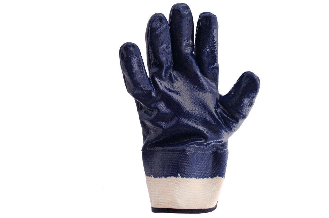 """Перчатки PRC Канистра - масло-бензостойкие с твердым манжетом 10"""" (щелочные) 6 шт."""