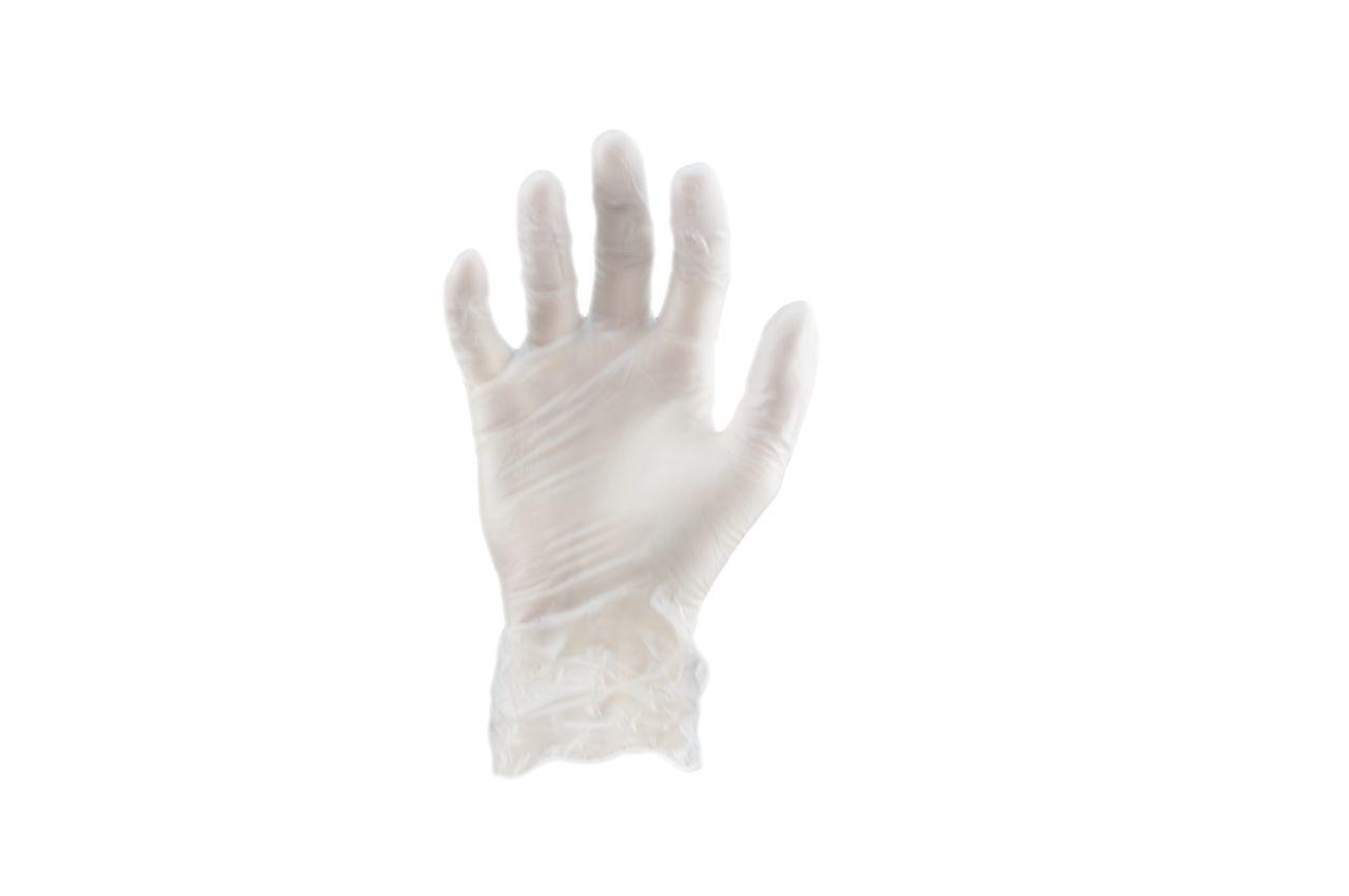 Перчатки Алиско - медицинские белые (M) (в пачке 100 перчаток)