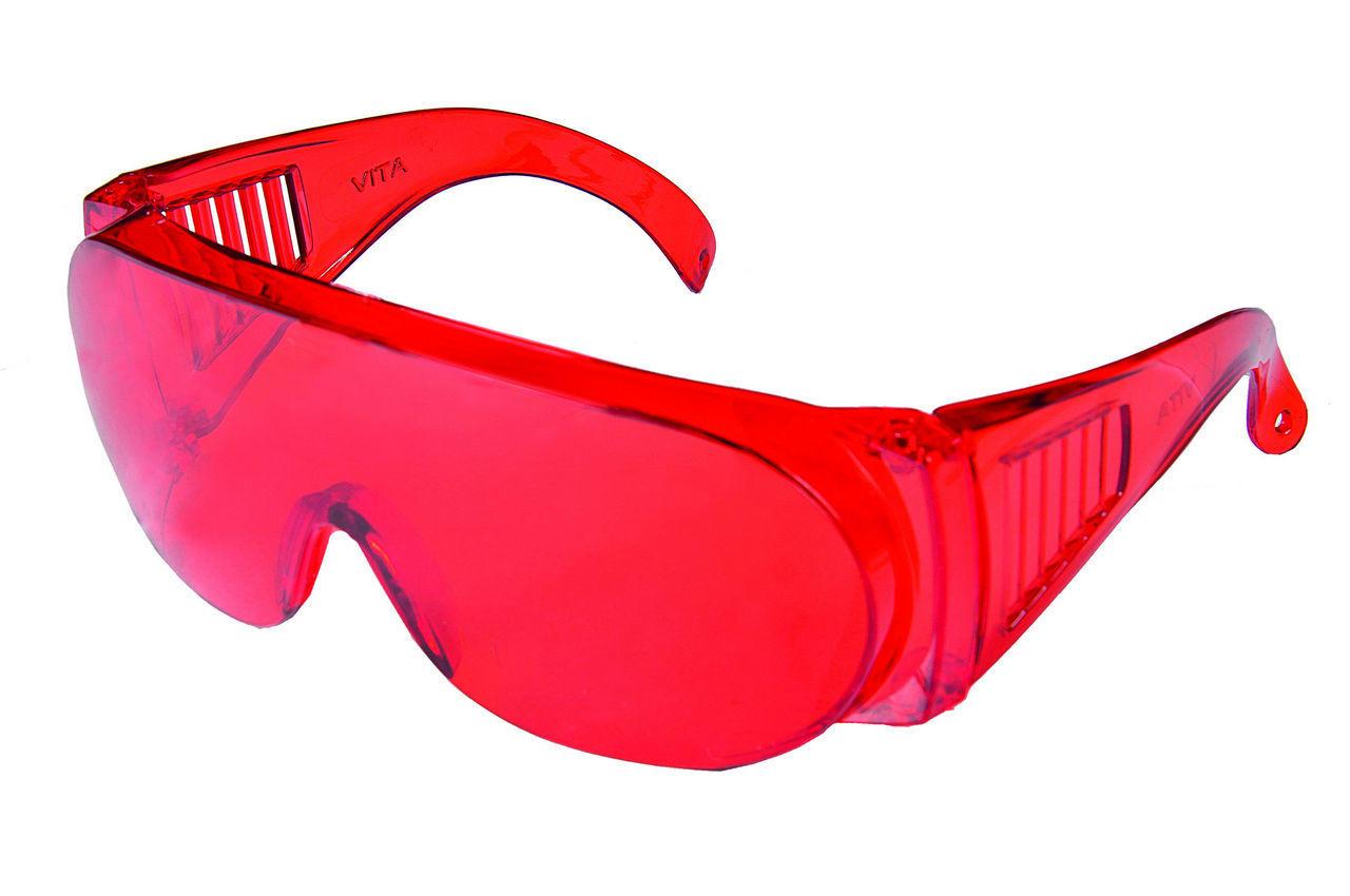 Очки защитные Vita - Озон (красные)