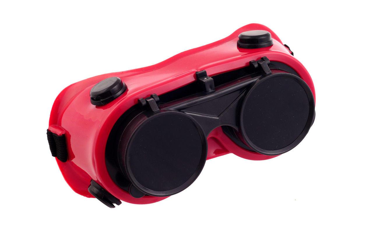 Очки сварочные Intertool - откидные Г-2
