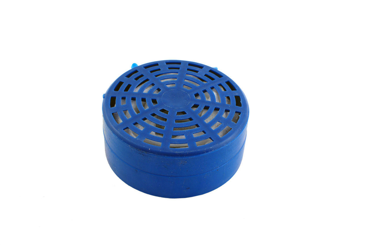 Фильтр для респиратора РУ-60М Vita - сорбент марка А1В1Е1Р2 ФП (пластик)