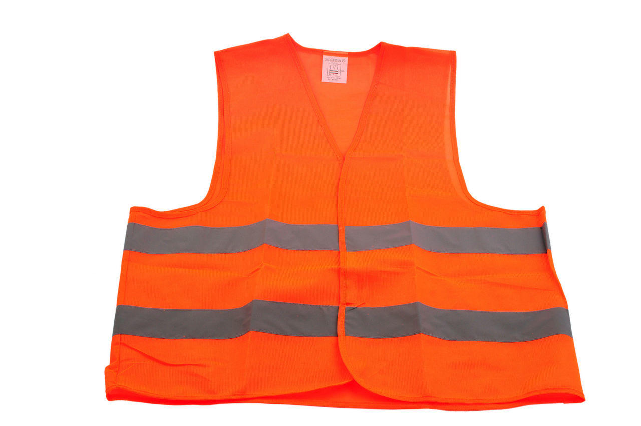 Жилет светоотражающий (оранжевый) Vita