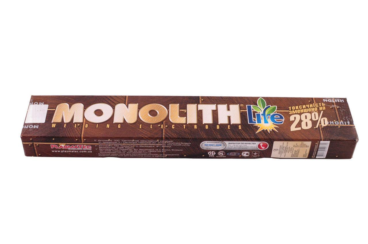 Электроды PlasmaTec - Monolith 4 мм х 2,5 кг, (РЦ)