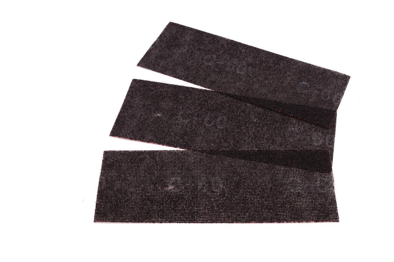 Сетка абразивная Intertool - 105 х 280 мм, Р220 (в комплекте 10 шт.), KT-6022