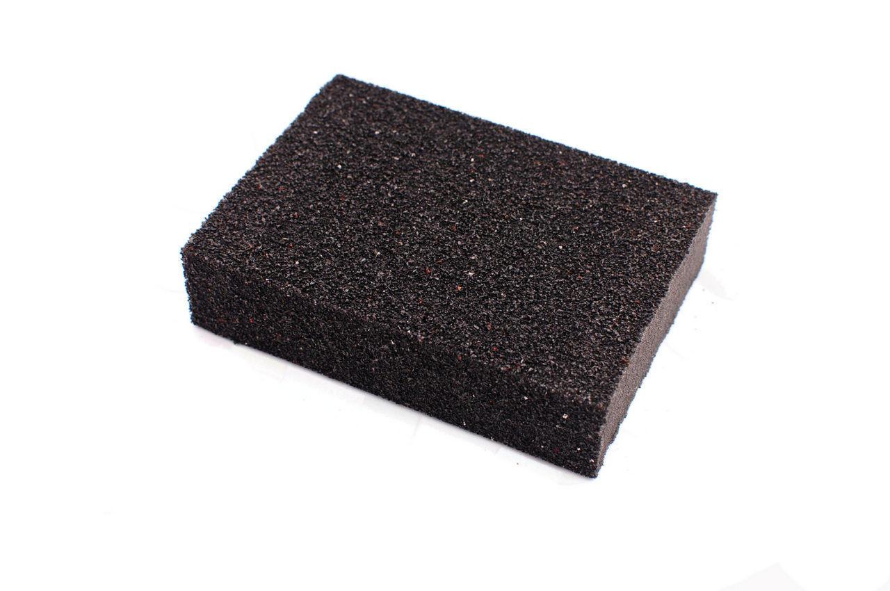 Губка шлифовальная Intertool - 100 х 70 х 25 мм, P240