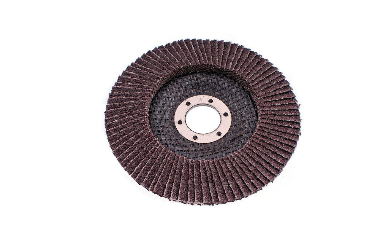 Круг лепестковый торцевой Эталон - 125 мм, Р100