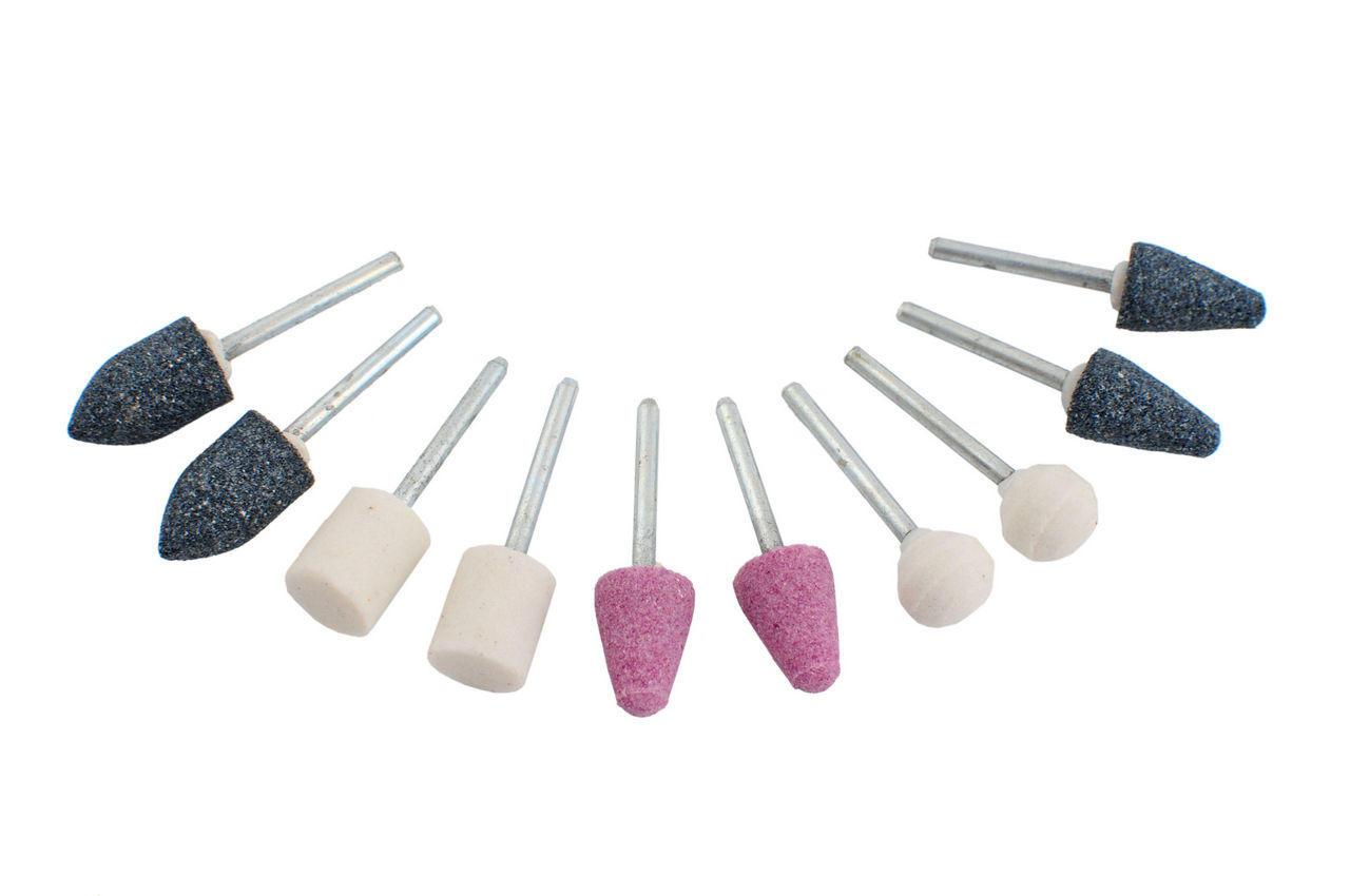 Набор шлифовальных камней Housetools - 10 шт., 60K020