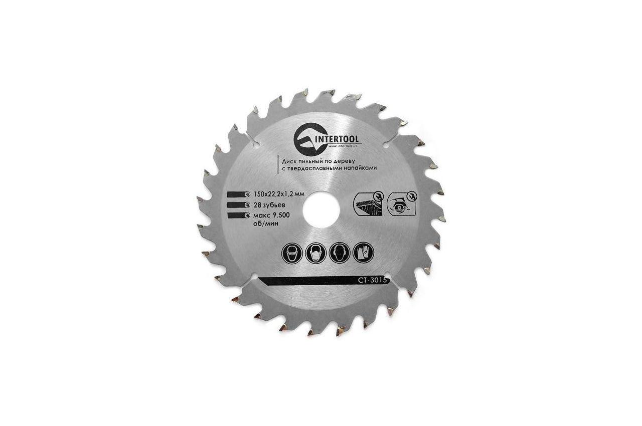 Диск пильный Intertool - 150 х 27T х 22,2 мм