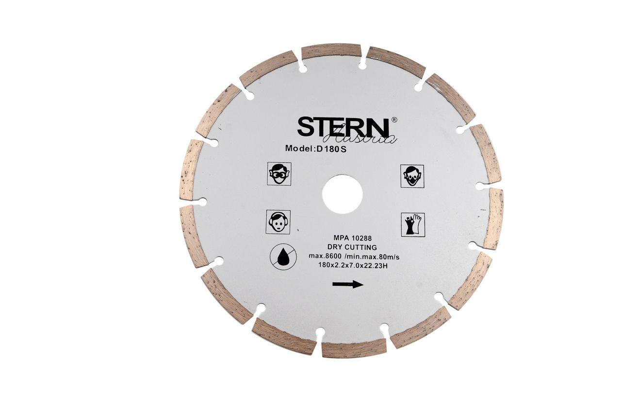 Диск алмазный Stern - 180 мм, сегмент, AD-8420