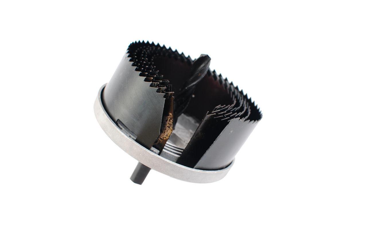 Набор корончатых сверл по гипсокартону Intertool - 5 шт. (60-95 х 20 мм)