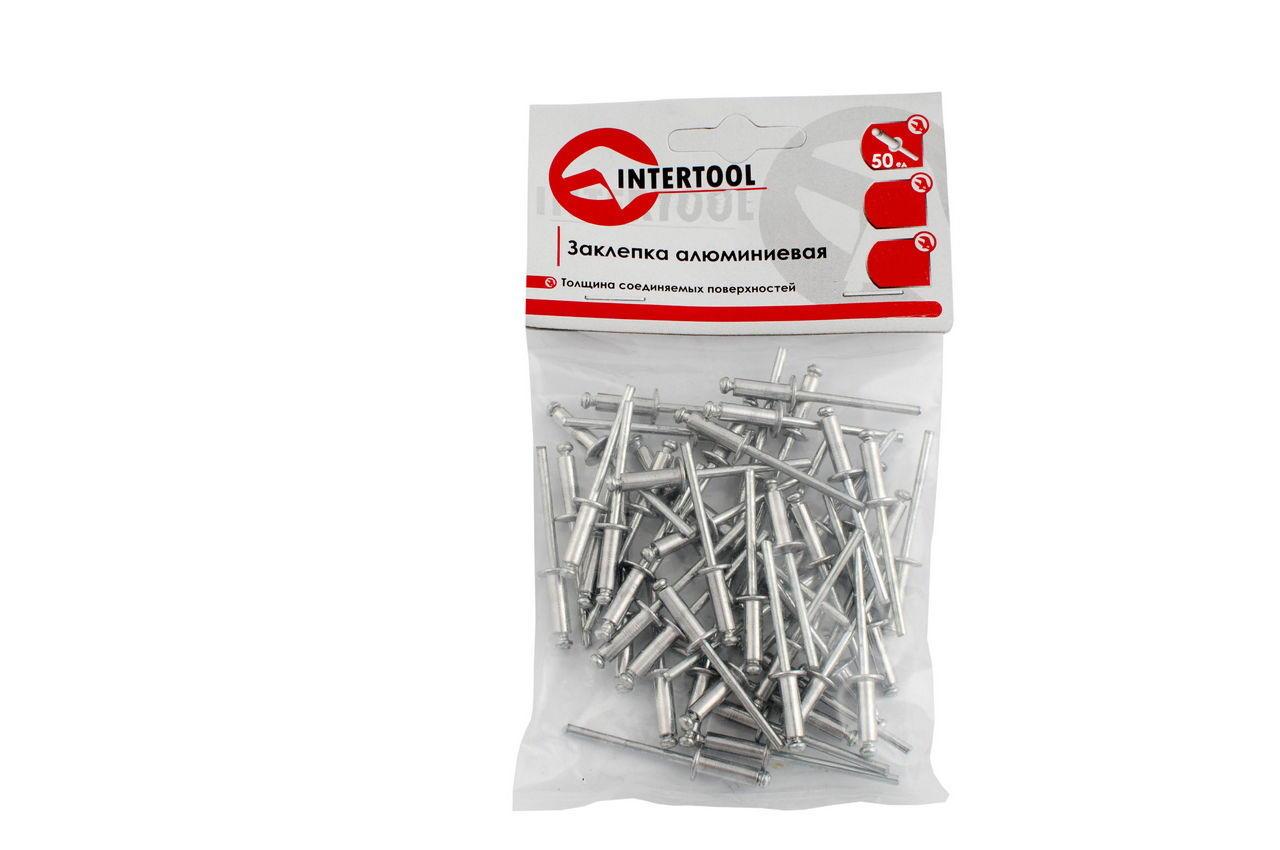 Заклепка Intertool - 4,0 х 20 мм (50 шт.)