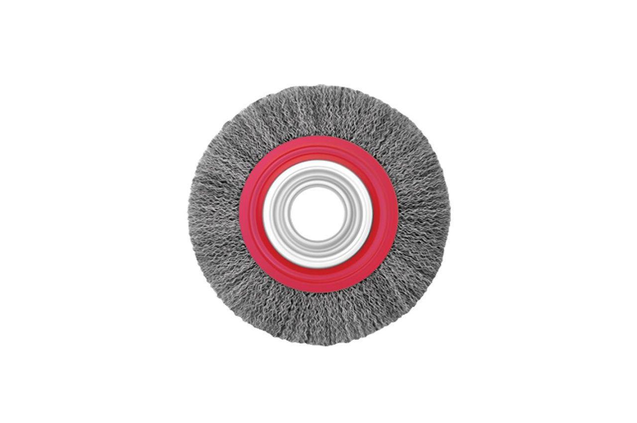 Щетка дисковая Intertool - 150 мм, рифленая