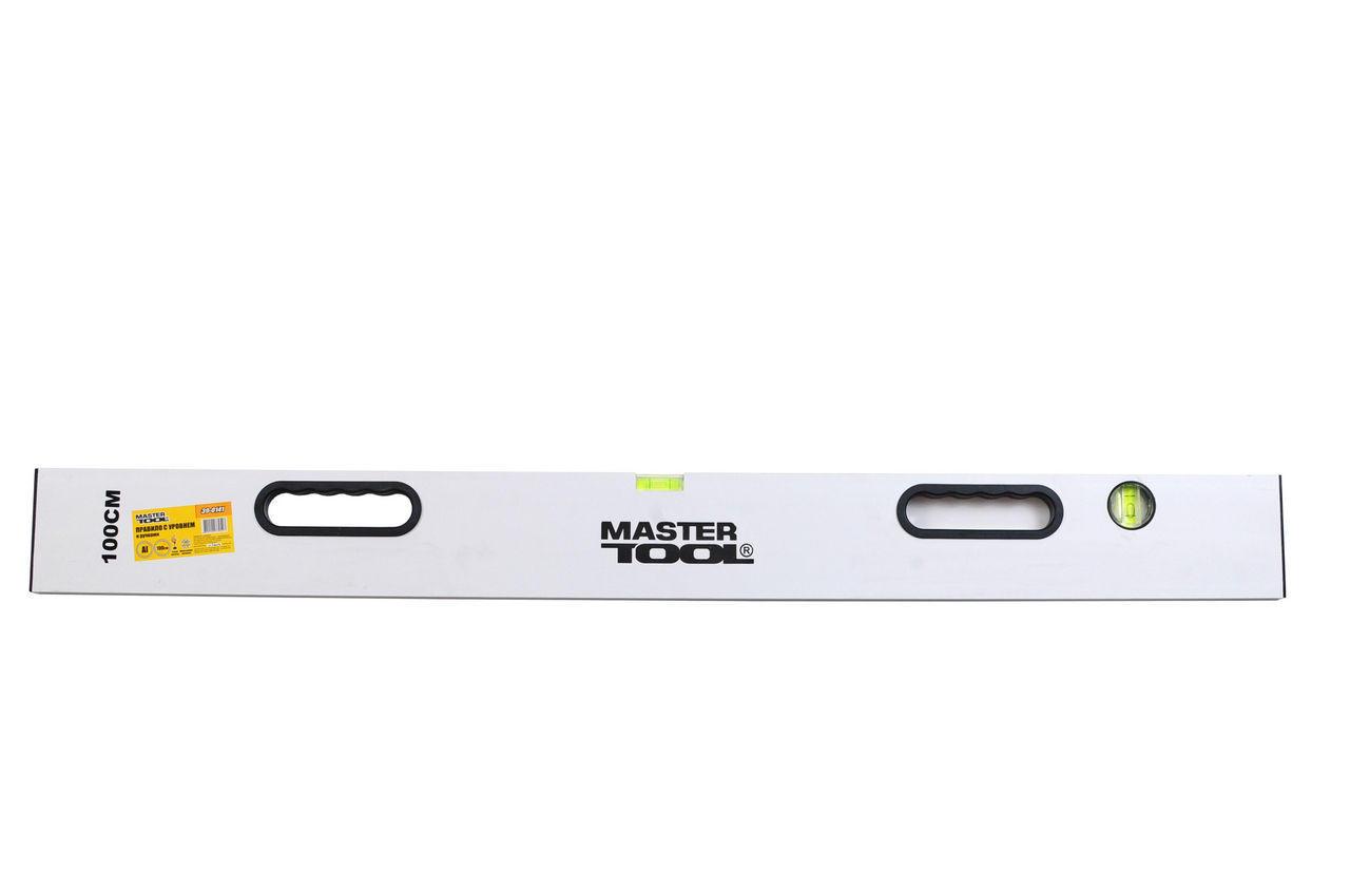 Правило-уровень Mastertool - с ручками 2500 мм