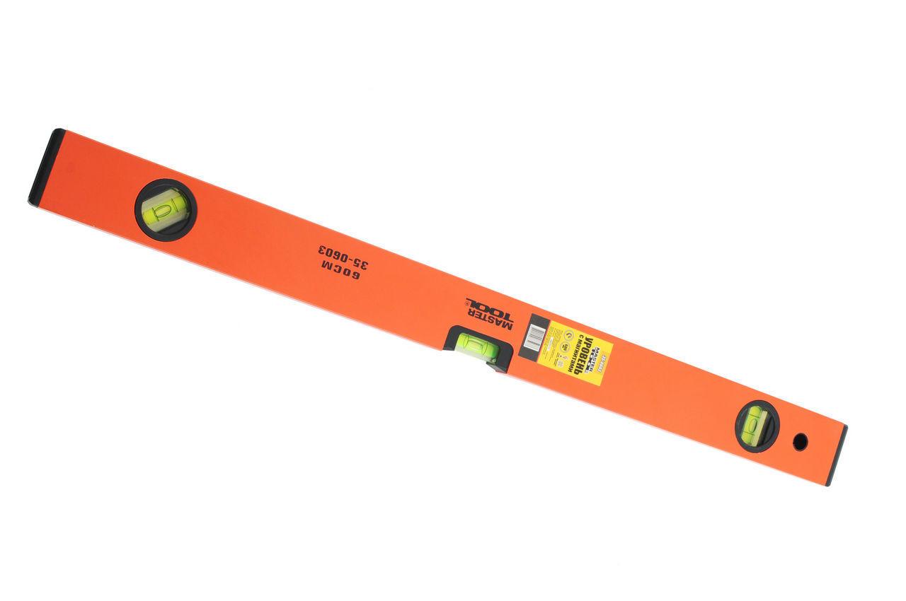 Уровень Mastertool - 400 мм, с магнитами, 35-0403