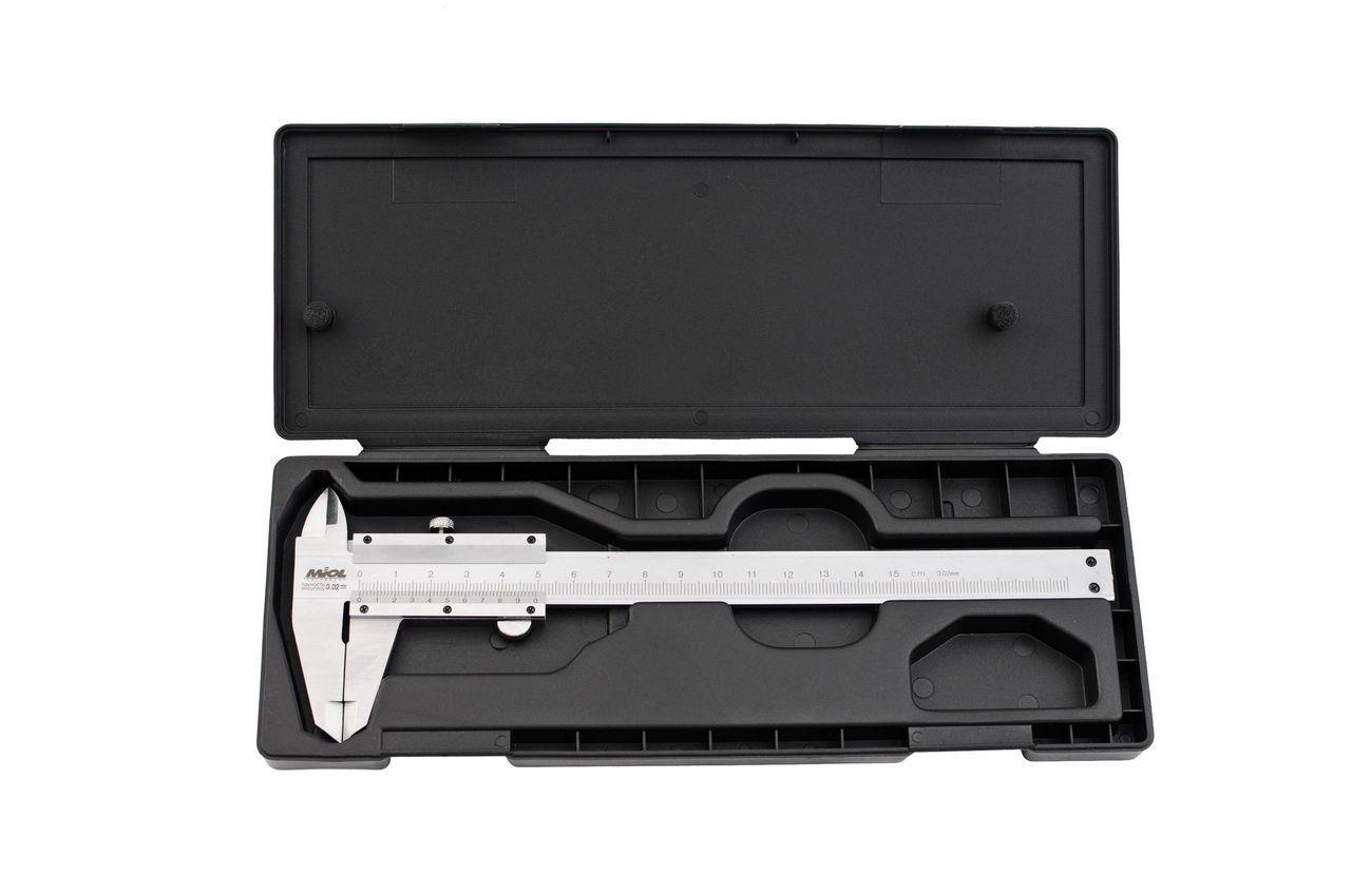 Штангенциркуль Miol - 150 мм, цена деления 0,02 мм