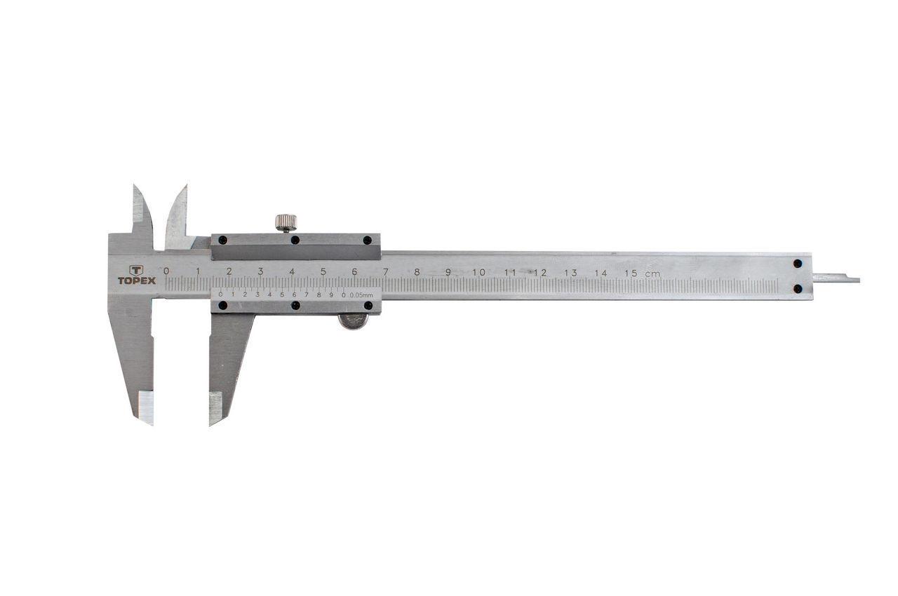 Штангенциркуль Topex - 200 мм, цена деления 0,05 мм