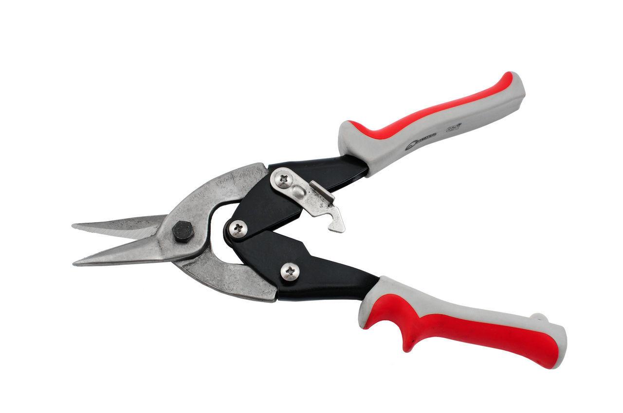 Ножницы по металлу Intertool - 250 мм, прямые, HT-0177