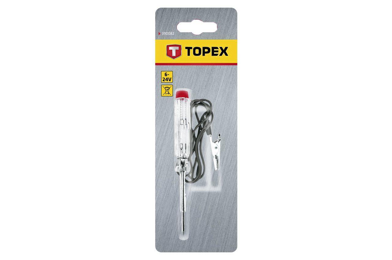 Фазометр Topex - 6-24 В, 140 мм, автомобильный