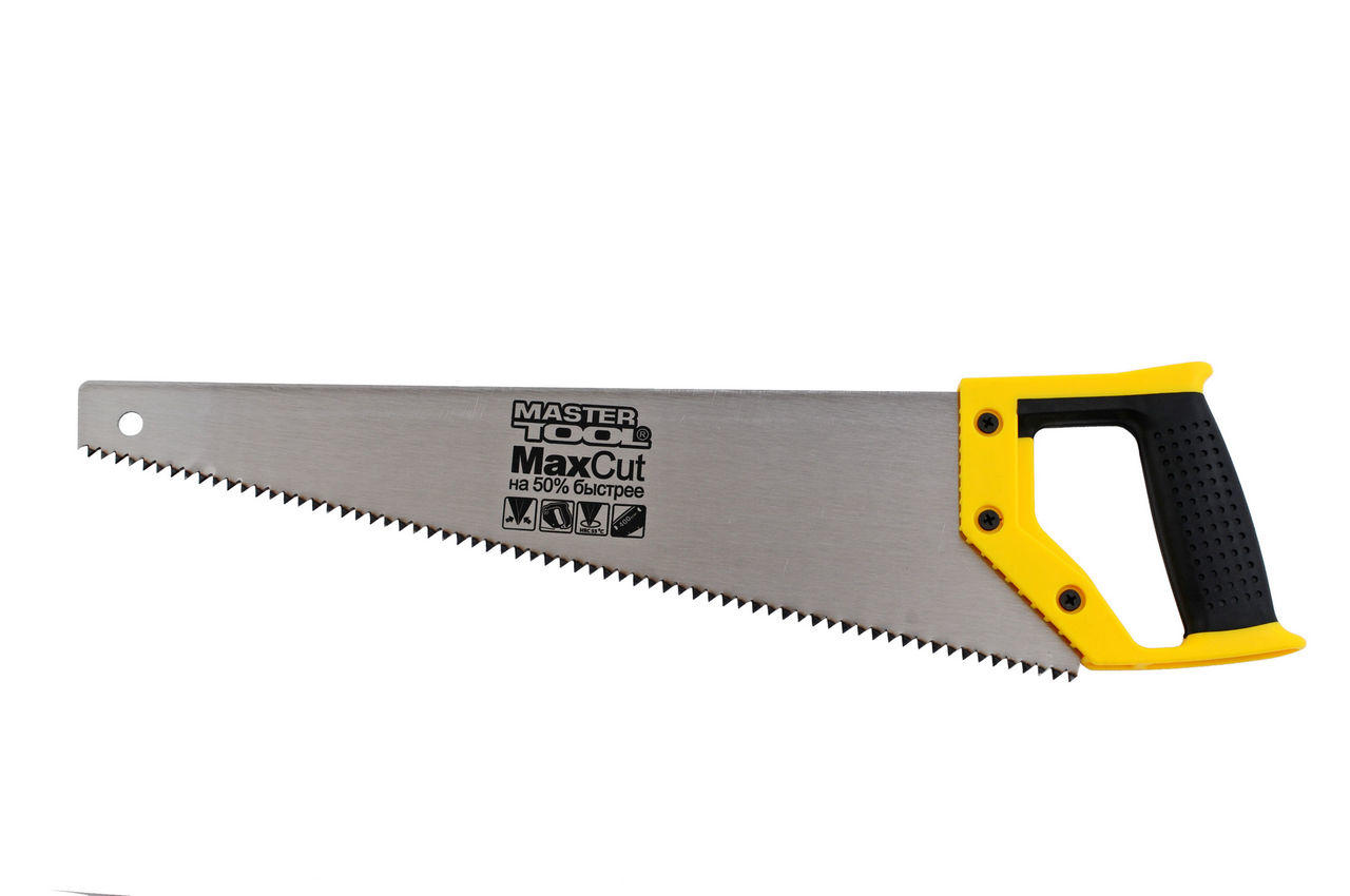 Ножовка по дереву Mastertool - 500 мм, 4T х 1