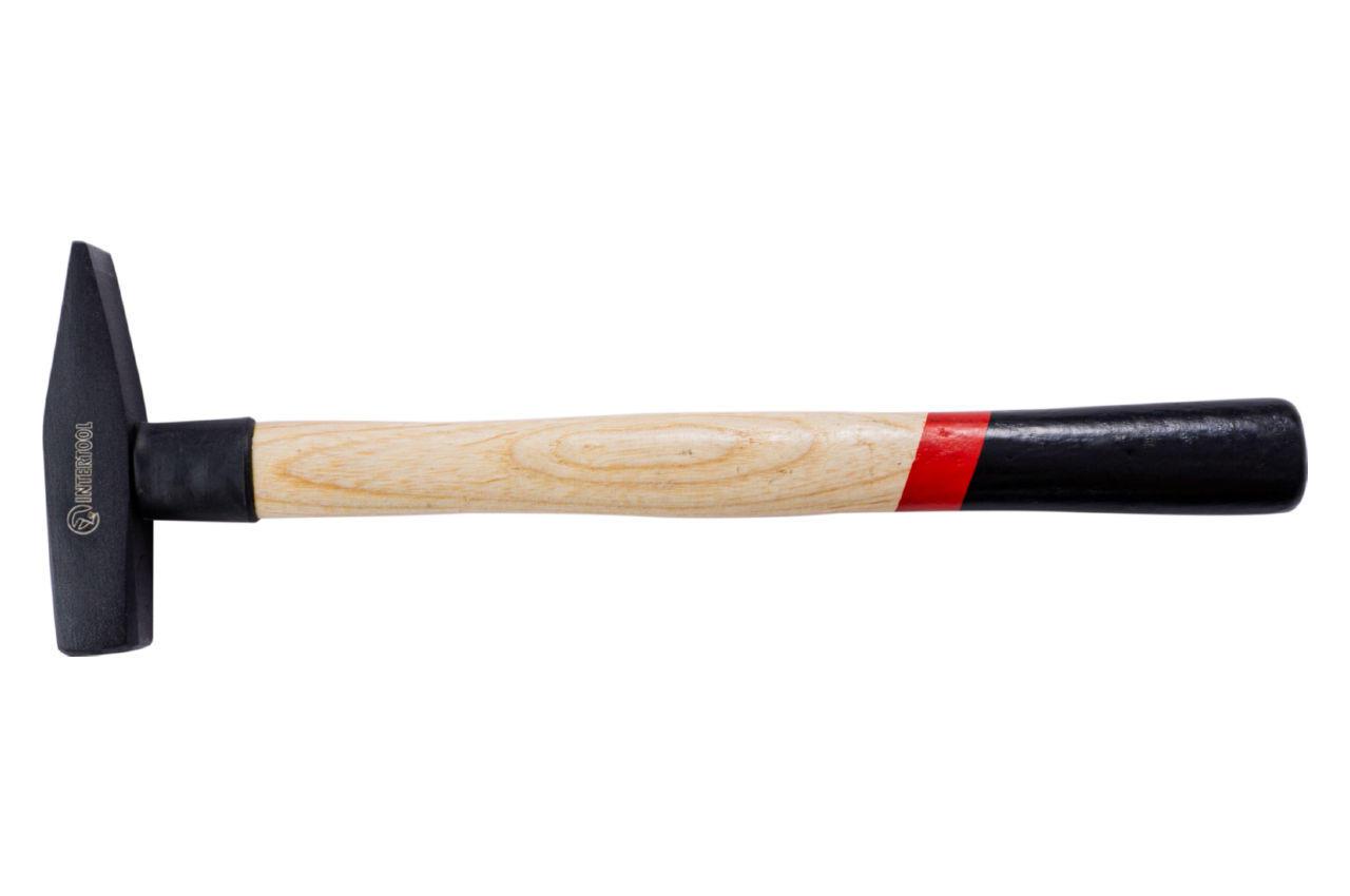 Молоток Intertool - 200 г, ручка ясень
