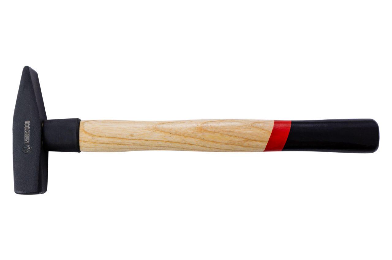 Молоток Intertool - 400 г, ручка ясень