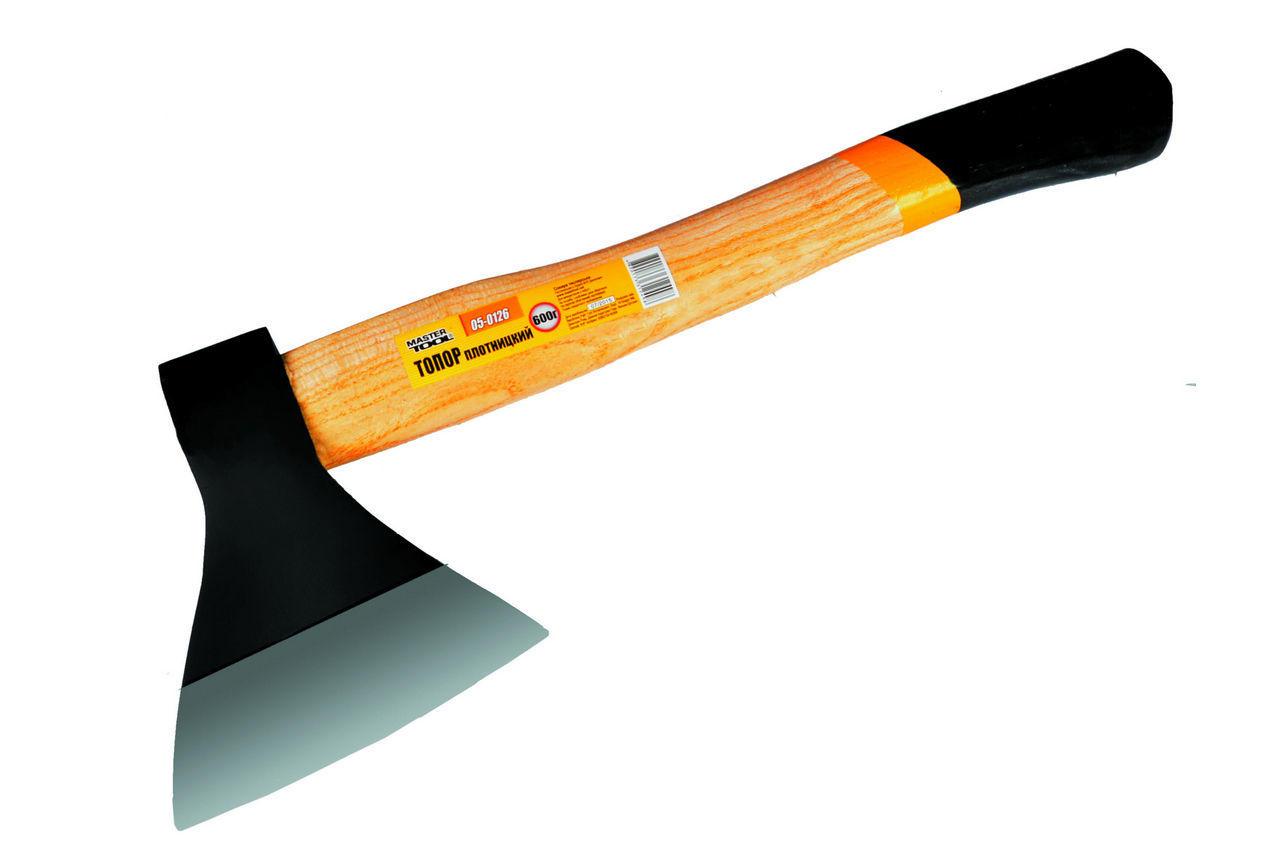Топор Mastertool - 600 г, ручка деревянная