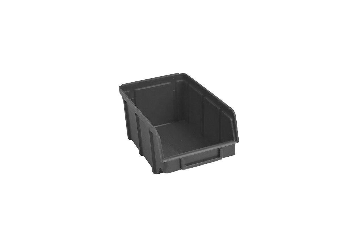 Ящик для метизов Wave - 230 х 145 х 125 мм, чёрный