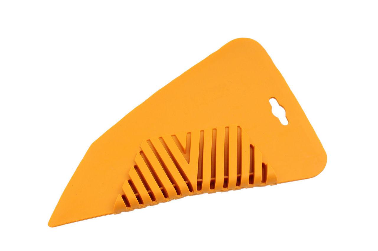 Шпатель прижимной для обоев Intertool - желтый