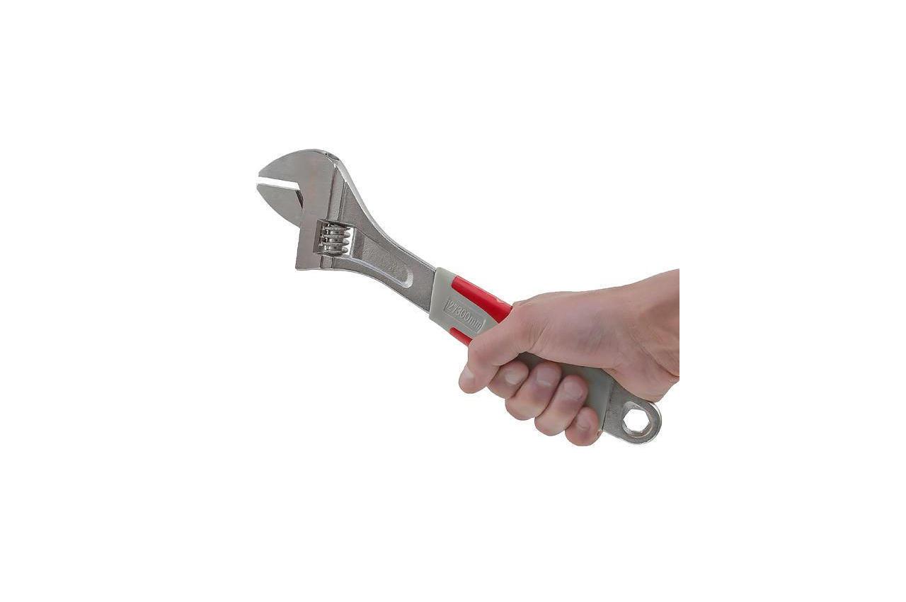 Ключ разводной Intertool - 300 мм (0-35 мм)