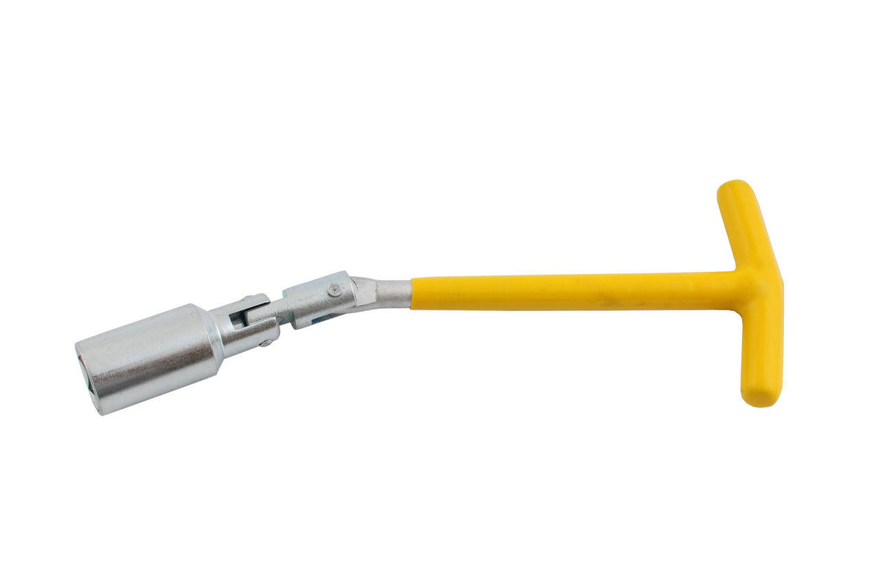 Ключ свечной Т-образный с шарниром Intertool - 21 х 250 мм, HT-1722