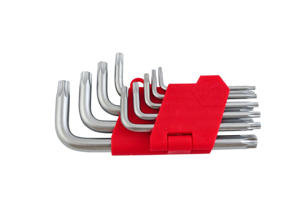 Набор Torx ключей Intertool - 9 шт.