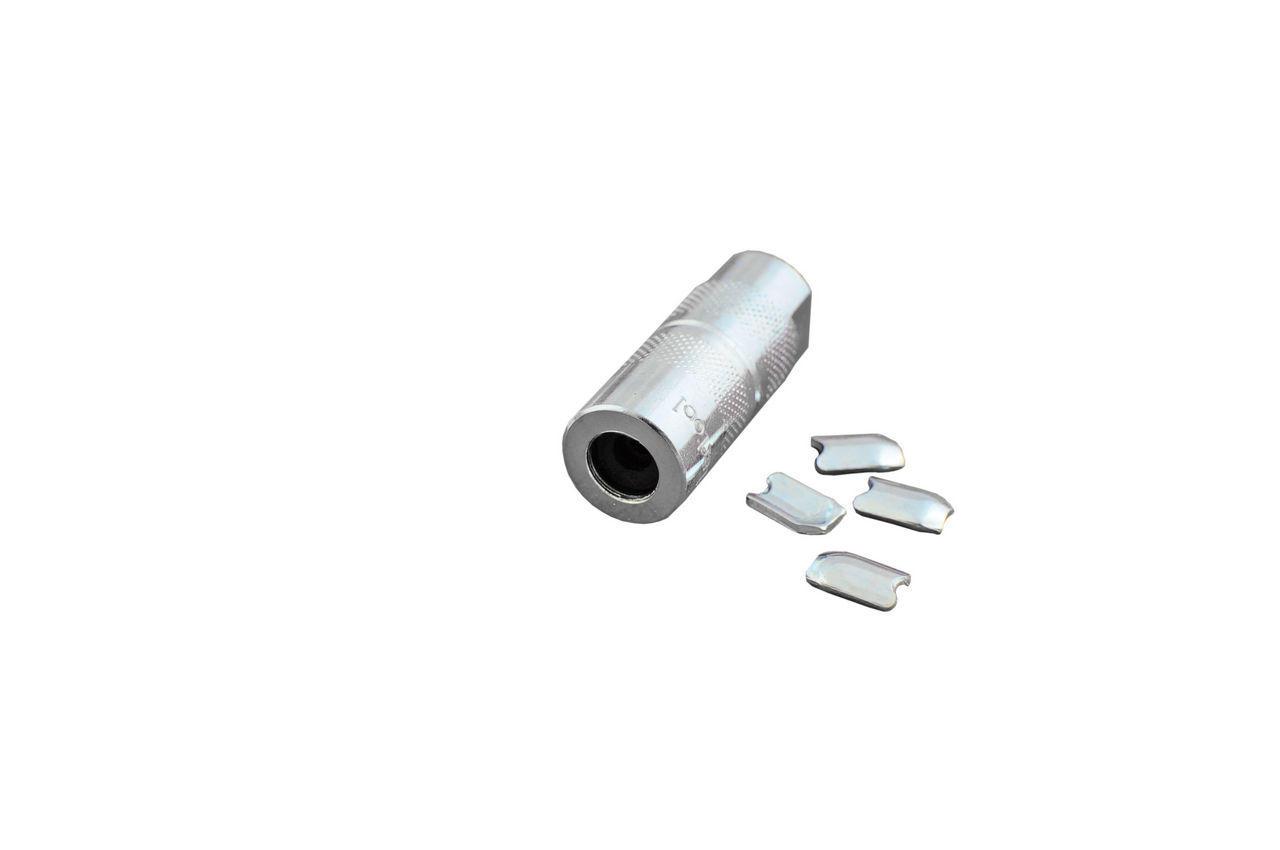 Насадка на шланг шприца для смазки Intertool - разборная, HT-0070