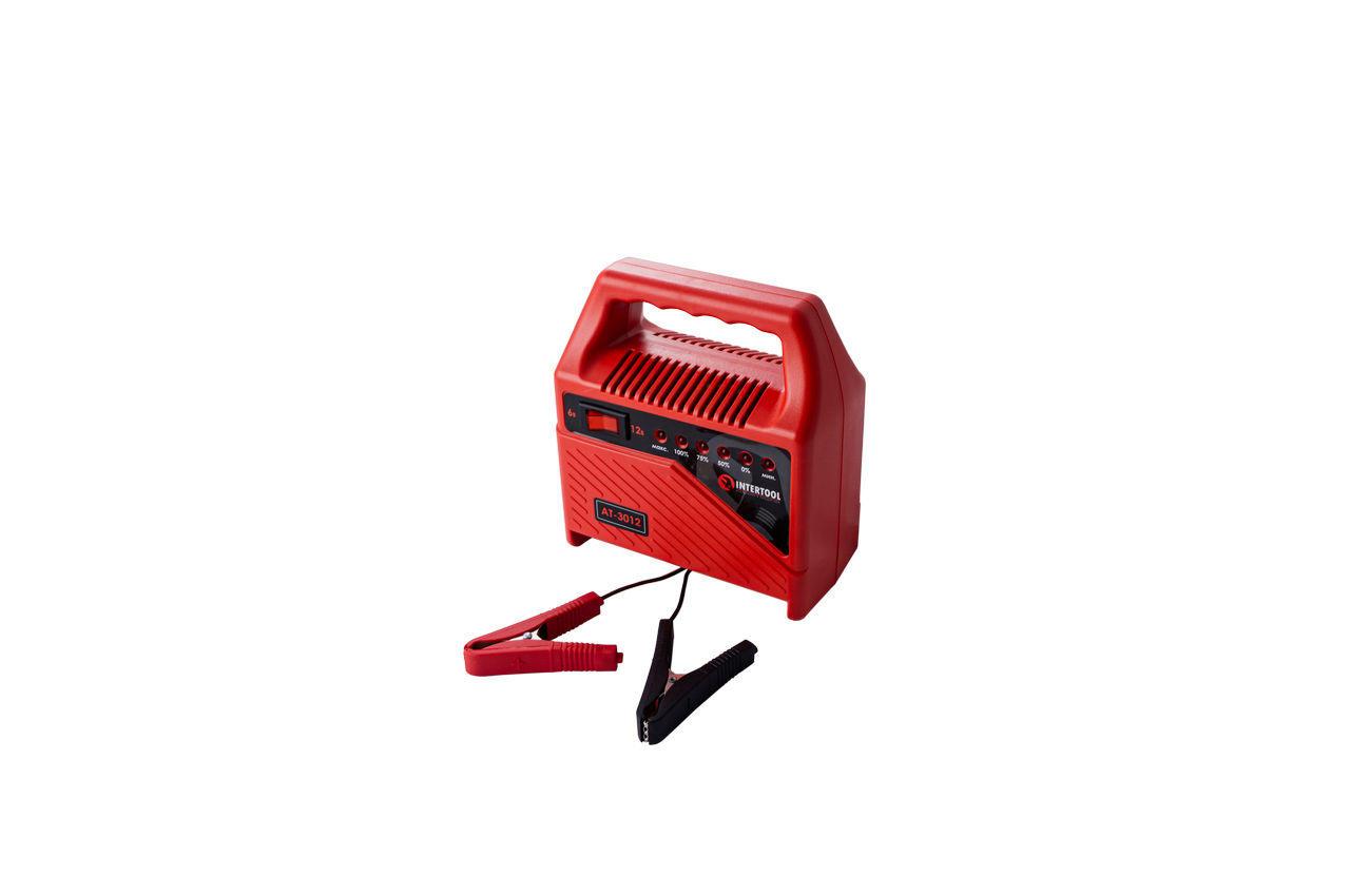 Зарядное устройство Intertool - 6 - 12 В, 6 А, со светодиодной индикацией