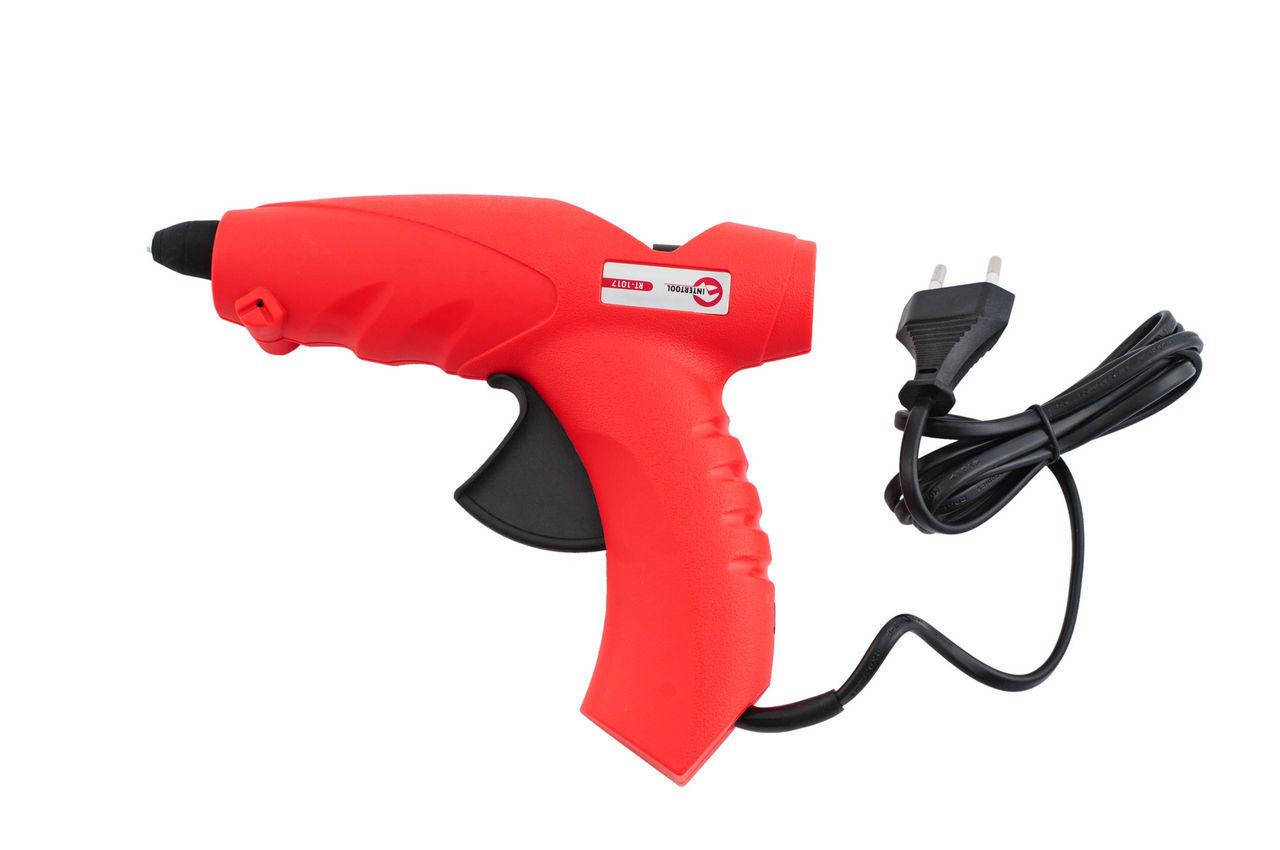 Пистолет клеевой Intertool - 200 Вт, 18 г/мин, RT-1017