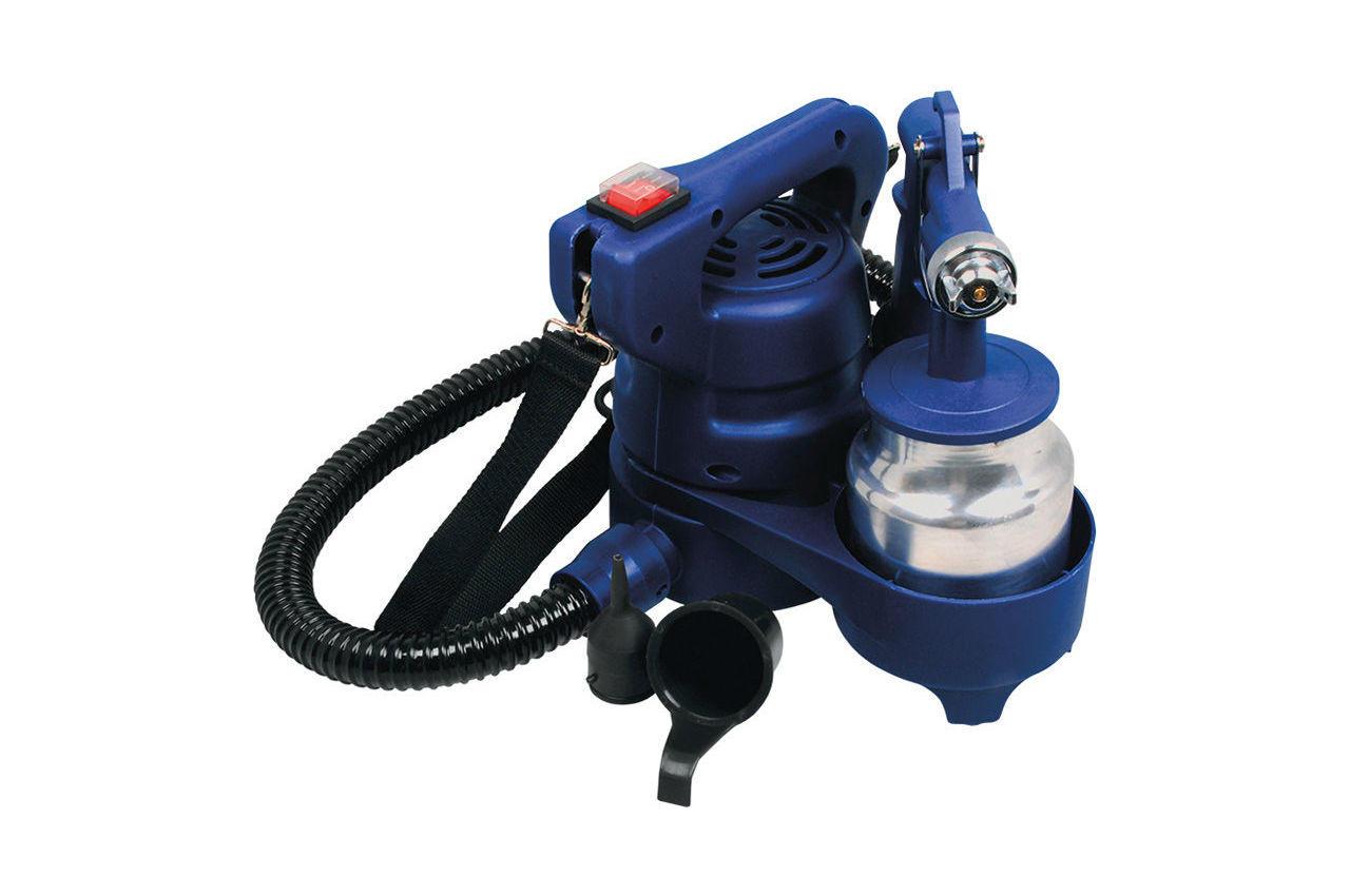 Краскопульт электрический HVLP Miol - 450 Вт, 1000 мл, 79-550