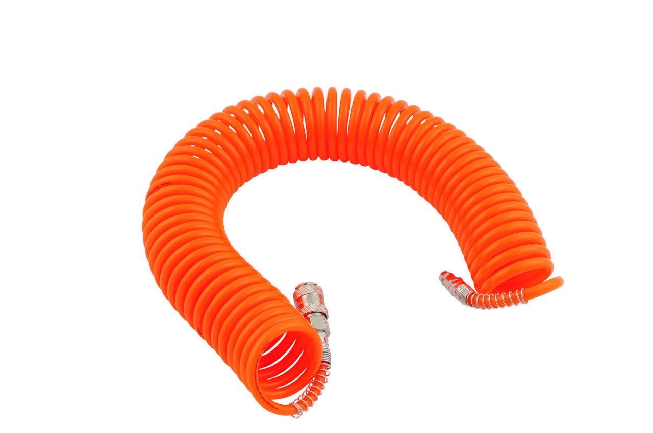 Шланг спиральный Intertool - 15 м, пластиковый