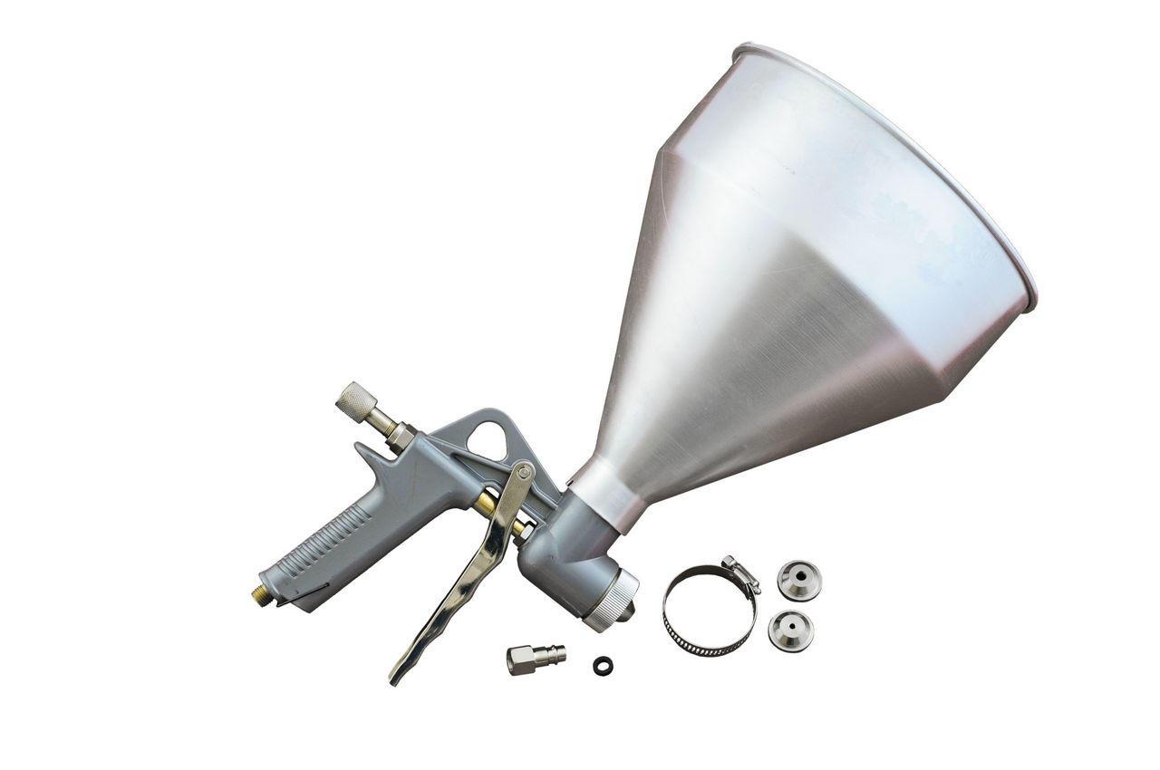 Пневмопистолет для нанесения цемента Miol - 5000 мл, d=4, 5, 6, 8 мм, 81-562