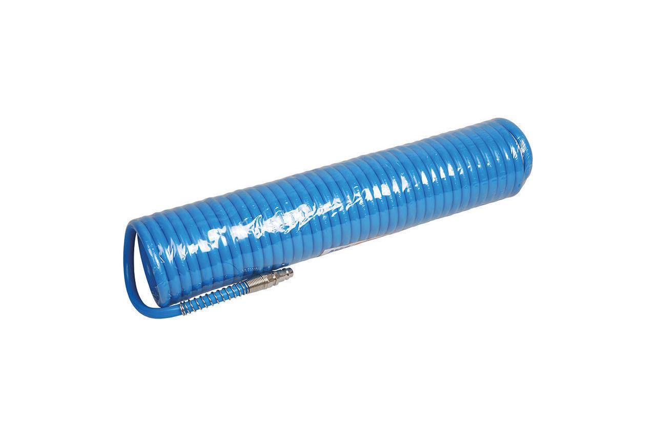 Шланг спиральный Miol - 15 м, 5 х 8 мм, полиуретановый