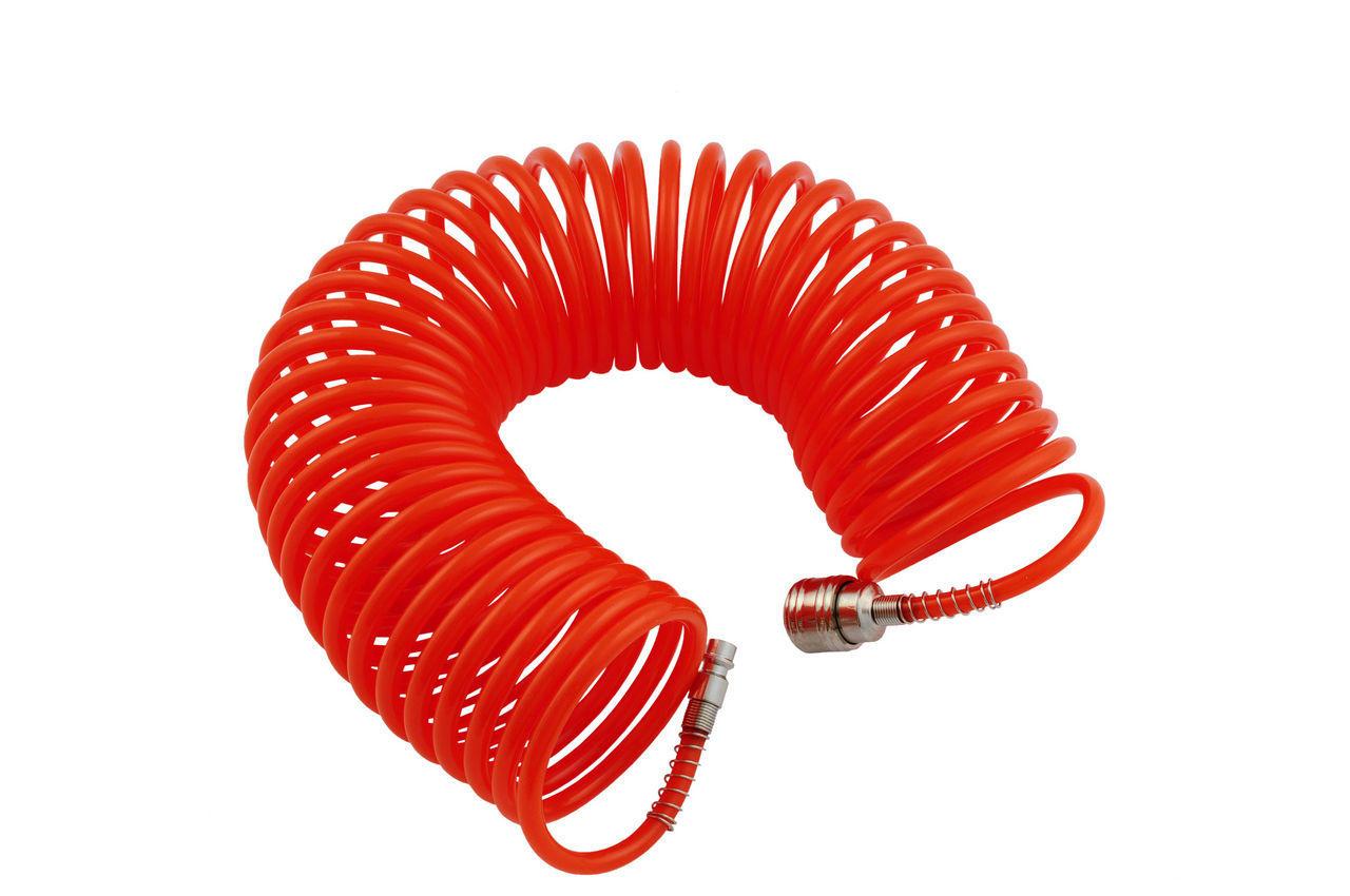 Шланг спиральный Housetools - 10 м, пластиковый