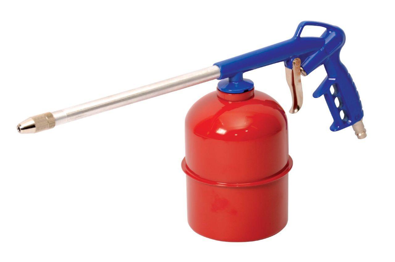 Пневмопистолет для распыления жидкостей Mastertool - 900 мл, 4 bar