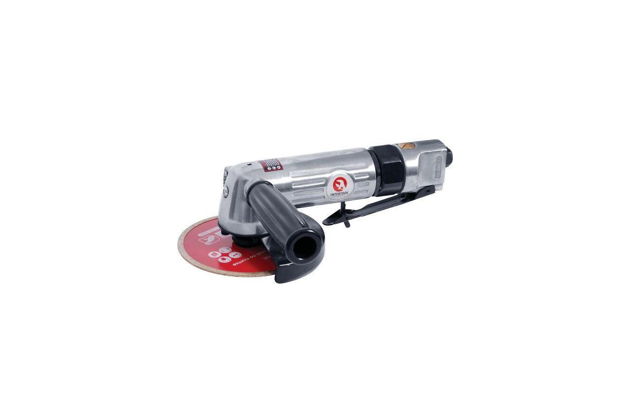 Шлифмашинка угловая пневматическая Intertool, 115 мм